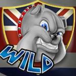 Jogo caça-níqueis online Best of British - símbolo  curinga