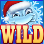 Símbolo curinga do jogo de cassino  Flowers: Christmas Edition