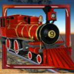 Jogo caça-níqueis online RailRoad - símbolo curinga