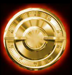 Símbolo disperso do caça-níqueis de cassino online Action Bankbol