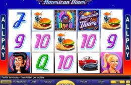 Caça-níqueis online American Diner da Novomatic