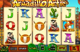 Jogue o jogo caça-níqueis grátis game Armadillo Artie