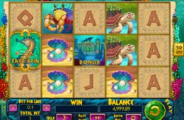 Jogo sem download Atlantic Treasures para diversão