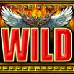 Símbolo curinga do jogo de cassino Battle of the Gods