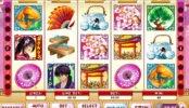 Gire o jogo caça-níquel online Geisha Story