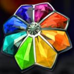 Símbolo curinga do caça-níqueis online grátis Gemscapades