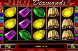 Imagem do jogo de cassino online Hot Diamonds