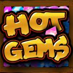 Símbolo disperso do caça-níqueis grátis Hot Gems online