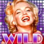 Ícone curinga do jogo de cassino Marilny Monroe