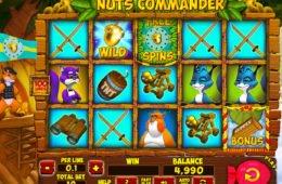 Caça-níqueis online grátis Nuts Commander