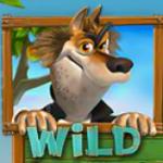 Símbolo curinga do caça-níqueis online grátis Piggiesand the  Wolf