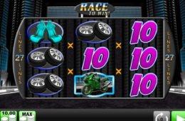 Imagem do caça-níqueis Race to Win