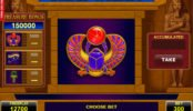 Jogo caça-níqueis grátis online Scarab Treasure online