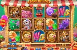 Caça-níqueis de cassino online Toys of Joy de entretenimento