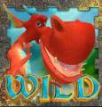 Símbolo curinga do jogo caça-níqueis de cassino A Dragon's Story