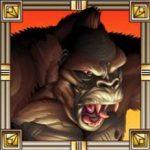 Caça-níqueis online King Kong - símbolo curinga