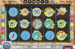 Jogue o jogo caça-níqueis online grátis Atomic Age