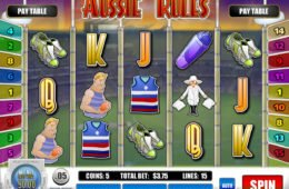 Caça-níqueis Aussie Rules da Rival Gaming