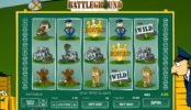 Jogo caça-níqueis online Battleground Spins