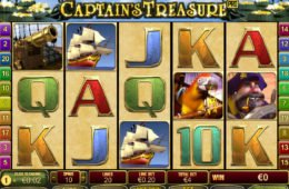 Jogo sem depósito online Captain's Treasure Pro da Playtech
