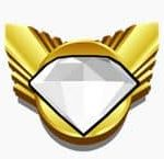 Foto do símbolo do jackpot da slot online Diamond Bonanza