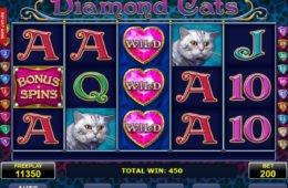 Jogo online sem depósito Diamond Cats