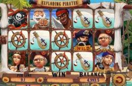 Jogue o caça-níqueis online Exploding Pirates