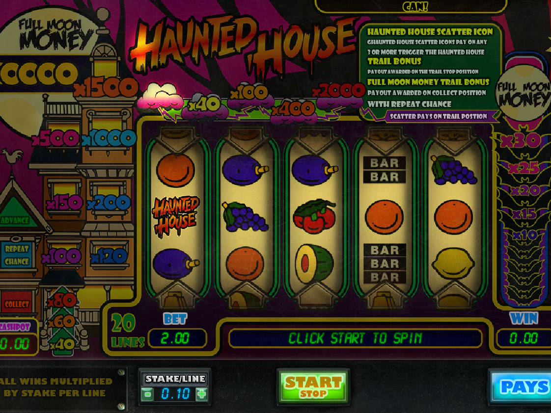 Haunted house slot gratis