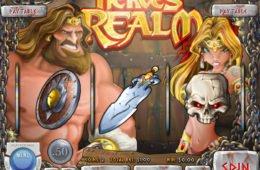 Gire o caça-níqueis de cassino grátis Heroes' Realm