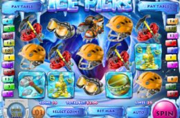 Gire o caça-níqueis online Ice Picks