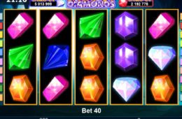 Jogue o caça-níqueis grátis online Jackpot Diamonds