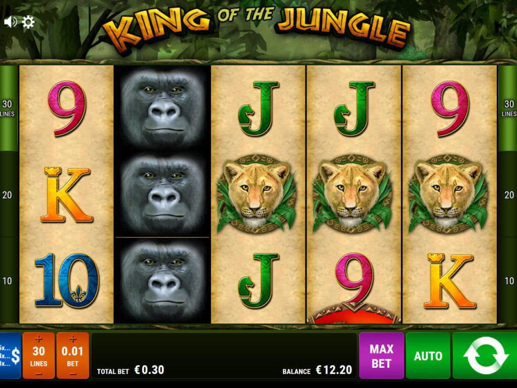 Spiele King Of The Jungle - Video Slots Online