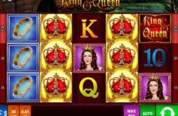 Caça-níqueis de cassino online grátis King & Queen
