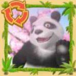 Símbolo dos giros grátis do caça-níqueis online Panda Party