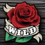 Símbolo curinga – Jogo de cassino Pistols and Roses