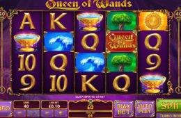 Gire os rodilhos do caça-níqueis Queen of Wands para diversão