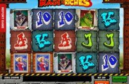 Caça-níqueis de cassino grátis Rage to Riches da Play'n Go