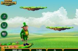 Caça-níqueis online grátis Rainbow Riches Leapin' Leprechauns