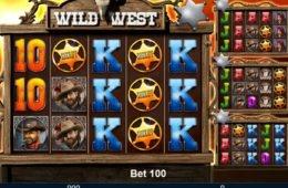 Caça-níqueis online Wild West da Mazzoma