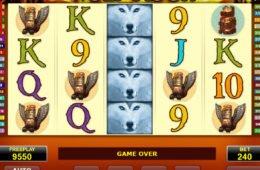Jogue o jogo de cassino online Wolf Moon