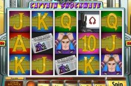 Jogue o jogo caça-níqueis online Captain Shockwave