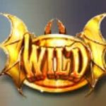 Símbolo curinga do jogo caça-níqueis grátis Dragons Rock