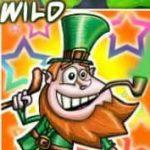 Símbolo curinga do jogo de cassino Lucky Leprechauns online