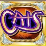 Símbolo curinga do caça-níqueis online grátis Cats