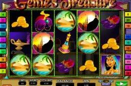 Foto do jogo de cassino online Genie's Treasure