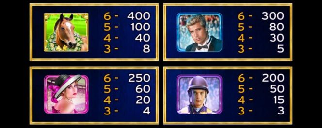 Tabela de Pagamento do caça-níqueis de cassino grátis Lucky Horse