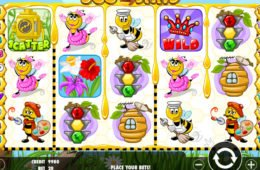 Caça-níqueis online grátis Bee Land