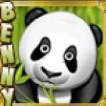 Símbolo do Jackpot do jogo caça-níqueis grátis Benny the Panda