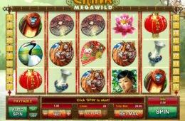 Jogue o jogo caça-níqueis China Mega Wild para entretenimento