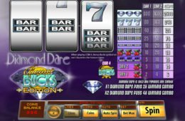 Jogo caça-níqueis de cassino online Diamond Dare Bônus Bucks